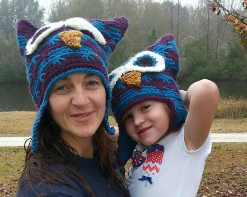 owl-hat-mom-kid
